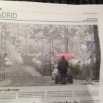 snow is Spain on 30 April